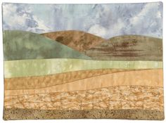 Wine Country, 2012, by Sharon Morton, Ohio, Alzheimer's Art Quilt Initiative #10,150