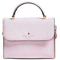 kate spade new york 'cedar street - mini nora' crossbody bag (2.830 ARS) ❤ liked on Polyvore featuring bags, handbags, shoulder bags, pink blush, pink handbags, crossbody purse, pink crossbody purse, crossbody handbags and crossbody shoulder bags