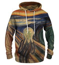 The Scream hoodie Material: Cotton, Polyester Cut: Unisex Origin: Made in EU Availability: Made to order Scream, Persona, Motorcycle Jacket, Unisex, Pullover, Hoodies, Sweaters, Cotton, Jackets