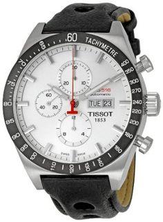 Tissot Mens TIST0446142603100 PRS 516 Silver Dial Watch