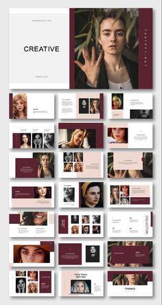 How To Brochure Design In Photoshop Portfolio Design Layouts, Book Design Layout, Portfolio Ideas, Portfolio Web, Fashion Portfolio Layout, Template Portfolio, Magazine Layout Design, Keynote Presentation, Design Presentation