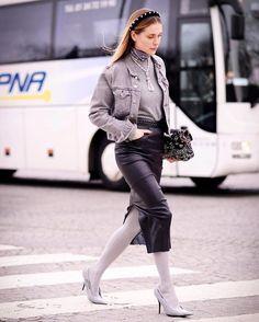 Autumn Winter Fashion Trends | Pearl Headbands