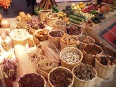 La representación del mercado prehispánico
