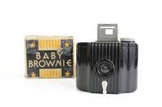 Vintage Kodak Camera Baby Brownie Art Deco by OldVintageGoodies, $30.00