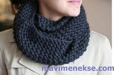 You have to see Fifth Avenue Infinity Scarf on Craftsy! - Looking for knitting project inspiration? Check out Fifth Avenue Infinity Scarf by member tentenknits. Infinity Scarf Knitting Pattern, Knit Cowl, Cowl Scarf, Knit Or Crochet, Crochet Scarves, Crochet Pattern, Crochet Stitch, Crochet Granny, Hand Crochet