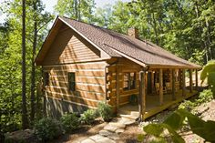 Hand Hewn Log Homes for Boot Ranch