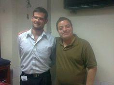 Con Teacher Gonzalo Javier Pérez-Zollner Gamero de Basic 8