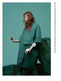 Irina Kravchenko for Bon Magazine by Paul Jung