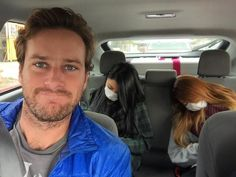 "9,088 Likes, 370 Comments - Armie Hammer (@armiehammer) on Instagram: ""Nailing this @uber carpool... They got in and passed the F out, hopefully it has nothing to do with…"""