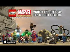 LEGO Marvel Super Heroes: Universe in Peril - Available Now on iOS