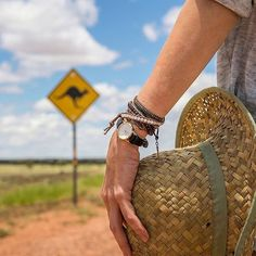 """via. @busemprzezswiat  """"It's time for outback with @marcinmalicki  #australia #trip #outback #time #cluse #watch #kangaroo #roadtrip #road #freedom #hat #hatlover #roadsign #openroad #busemprzezswiat #summer #australiansummer #roadlife @cluse #soon""""  buff.ly/2k9I7hs"""