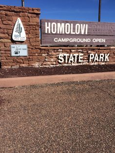 Homolovi Campground and Information Center.  This campground is a real gem.  It's quiet and also has full hookups.  In addition, it's just 2 miles from Winslow, Arizona.