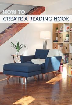 How to assemble a reading nook - a step-by-step guide with great product recommendations #ReadingChair
