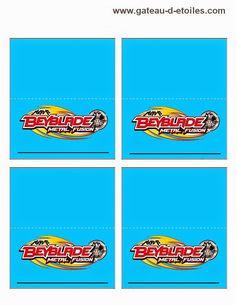 Beyblade: Free Printable Kit.