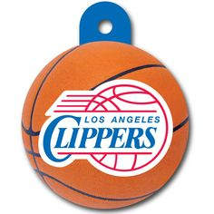 The perfect pet tag for a Clippers Fan! Love it!