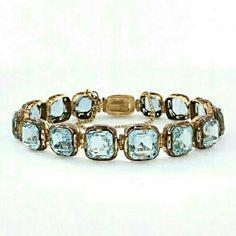 -Victorian Antique Aquamarine jewelry