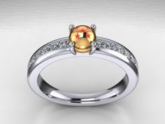 DBZ Goku wedding ring Visit now for 3D Dragon Ball Z compression