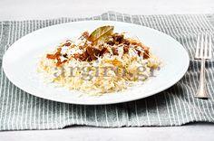 Ανατολίτικο τας κεμπάμπ με ατζέμ πιλάφι Top 5, Food Categories, Greek Recipes, Risotto, Oatmeal, Turkey, Rice, Beef, Breakfast