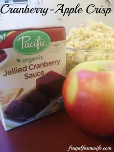 ... images about Fruity on Pinterest | Apple crisp, Cranberries and Fruit