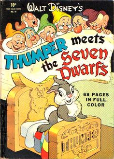 Walt Disney's Thumper meets the Seven Dwarfs — 1943 comic book