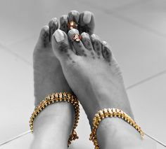 indian bride toe ring