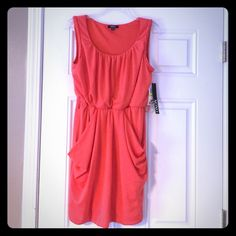NWT XOXO Sun Dress NWT XOXO Sun Dress. Size medium. Made in China. New with tags. Retail price $59. 96% polyester. 4% spandex. No belt included. Machine wash. Tumble dry. XOXO Dresses Mini