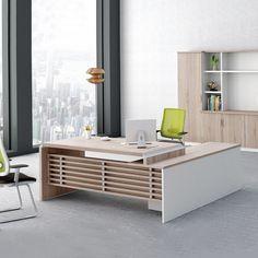 Factory wholesale price office modern president desk wooden unique executive office desk
