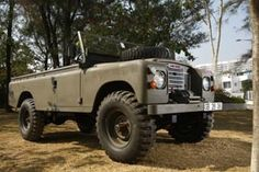 land rover 109 modified - Google Search
