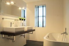 Badkamer gordijn
