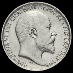 1905 Edward VII Silver Sixpence, Scarce, AVF