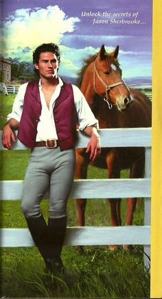 """Lyon's Gate by Catherine Coulter with model Nathan Kamp, who does a lot of covers for """"bodice-rippers""""."""