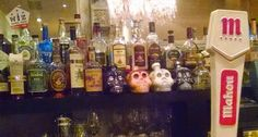 I want to drink what is in those custom skeleton jugs...behind the bar at Del Campo.