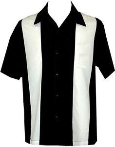 Enjoy exclusive for Mens Camp Shirt, Vintage Cuban Style Bowling Shirt ~ Buttafuco ~ Guayabera Dress Shirt Style online - Favortrendyfashion Custom Bowling Shirts, Vintage Bowling Shirts, Retro Shirts, Vintage Shirts, Cool Shirts, Casual Shirts, Men Shirts, Casual Outfits, Rockabilly Shirts
