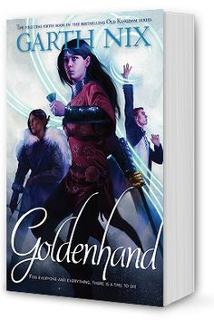 Goldenhand is Book 5 of The Old Kingdom Series by award-winning author Garth Nix, author of young adult fantasy novels. Popular Series, Best Series, Novels, Old Things, Author, Fantasy, Books, Movie Posters, Libros