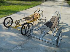 C E uploaded this image to 'pedal power'. See the album on Photobucket. Velo Design, Bicycle Design, Karting, Three Wheel Bicycle, Electric Tricycle, Recumbent Bicycle, Reverse Trike, Pedal Cars, Bike Frame