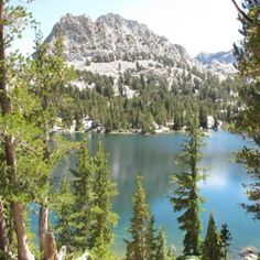 Mammoth Lakes in the summer