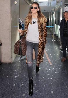 Fashion-Looks: Der Style von Heidi Klum - S. 17   GALA.de