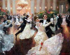 Vladimir Pervunensky 《In the Vortex of the Waltz》