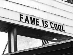 fame is cool • photo by Hedi Slimane © 2013 hedislimane.com