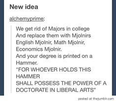 tum College Mjolnirs