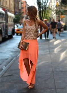 skirt season.