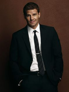David Boreanaz - loved him as Angel but love him equally as Seeley Booth in Bones :)