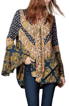 Free People 'Magic Mystery' Tunic Top available at #Nordstrom