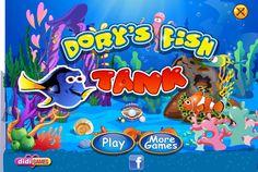 Postaraj się udekorować akwarium Dory! Wybierz ciekawe dodatki i spraw, by rybki czuły się jak na prawdziwej rafie koralowej! http://www.ubieranki.eu/gry/3856/akwarium-dory.html