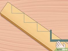 How to Cut Stair Stringers. Stair stringers are the backbone of any set of stairs. In order to cut your stair stringers perfectly, you need to take the time to. Outdoor Stairs, Deck Stairs, Wood Stairs, Stair Railing, How To Make Stairs, How To Build Steps, Building Stairs, Building A House, Stair Rise And Run