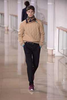 #PFW Hermes Fall Winter 2016.17 Menswear Collection