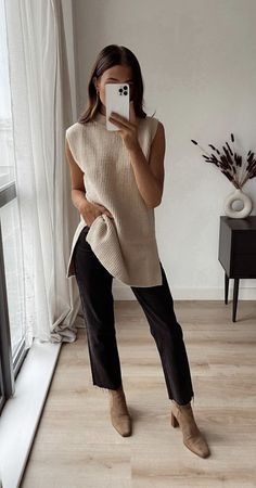 Mode Outfits, Fall Outfits, Casual Outfits, Fashion Outfits, Womens Fashion, Looks Chic, Looks Style, Traje A Rigor, Elegantes Outfit