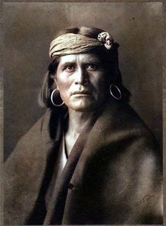 Hopi Chief. 1903. Photo by Edward S. Curtis