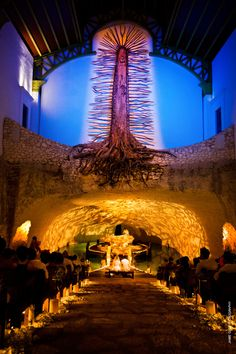 ♥ amazing front view of our  lady of guadalupe chapel in Xcaret playa del  carmen mexico,