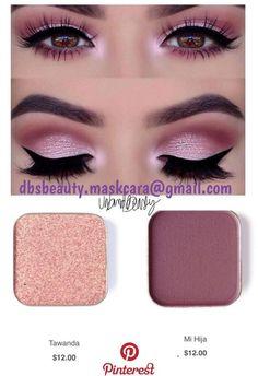 Tolle Make-up-Tipps . # makeup sencillo cafe Tolle Make-up-Tipps . Pink Eye Makeup, Makeup Eye Looks, Eye Makeup Steps, Pink Eyeshadow, Eyeshadow Makeup, Hair Makeup, Maskcara Makeup, Maskcara Beauty, Makeup 101